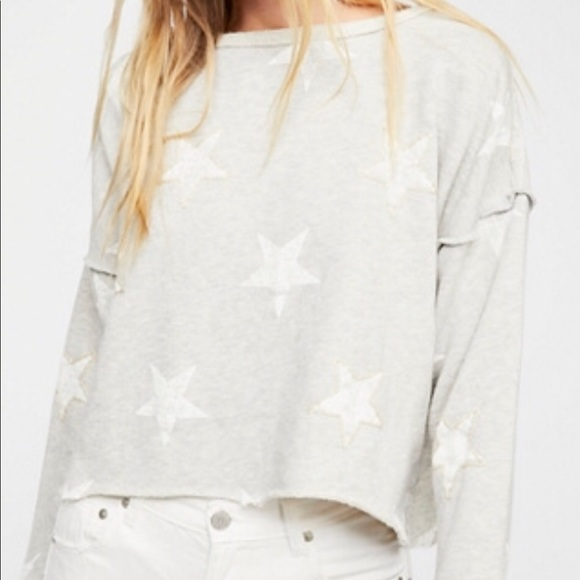 936c0575048 Free People Sweaters - ISO FREE PEOPLE AMERICAN BABE PULLOVER